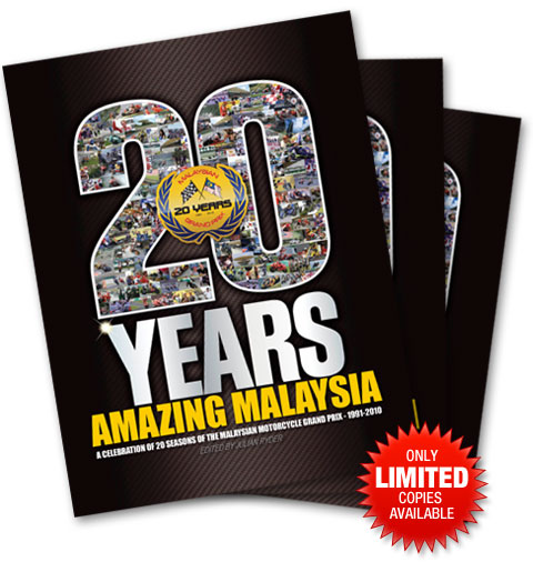 20 Years of Malaysian GP Commemorative Book